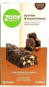 1 Boxes Zone Perfect 1.19 Lb Dark Chocolate Almond 12g ...