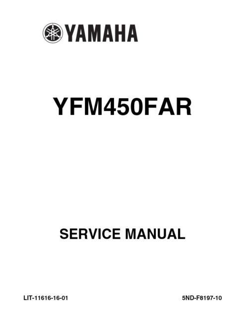 Haynes 2567 Repair Manual For Yamaha Kodiak & Grizzly ATVs