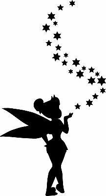 Window Wall Display Peter Pan Tinkerbell & Stars