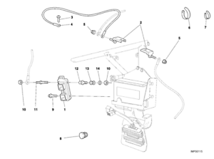 DUCATI OEM SUPERBIKE 996 998 ECU ENGINE CONTROL UNIT (NOS