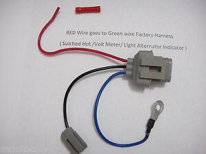 Ford 2g Alternator Wiring Diagram Ford 3g Alternator Conversion Harness Connector 1 Wire Ebay