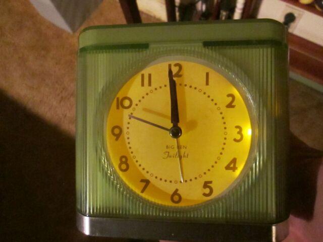 Vintage Westclox Ben Twilight Alarm