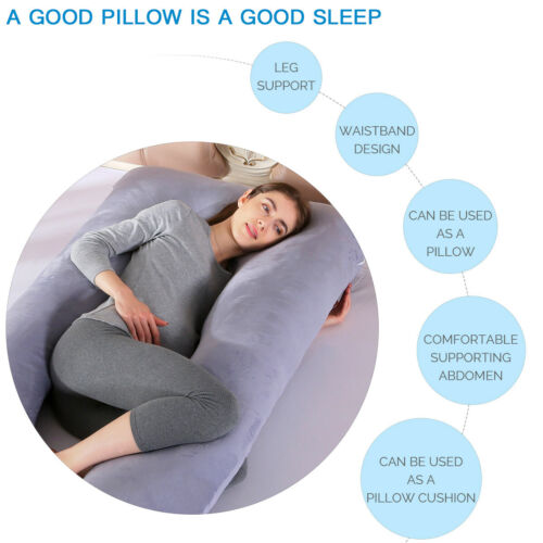 bedding oversized u shape pregnancy pillow full body support maternity pillow or cover bed pillows