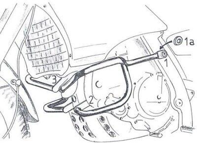 Hepco & Becker 502.701 00 01 Crashbars for Aprilia Pegaso