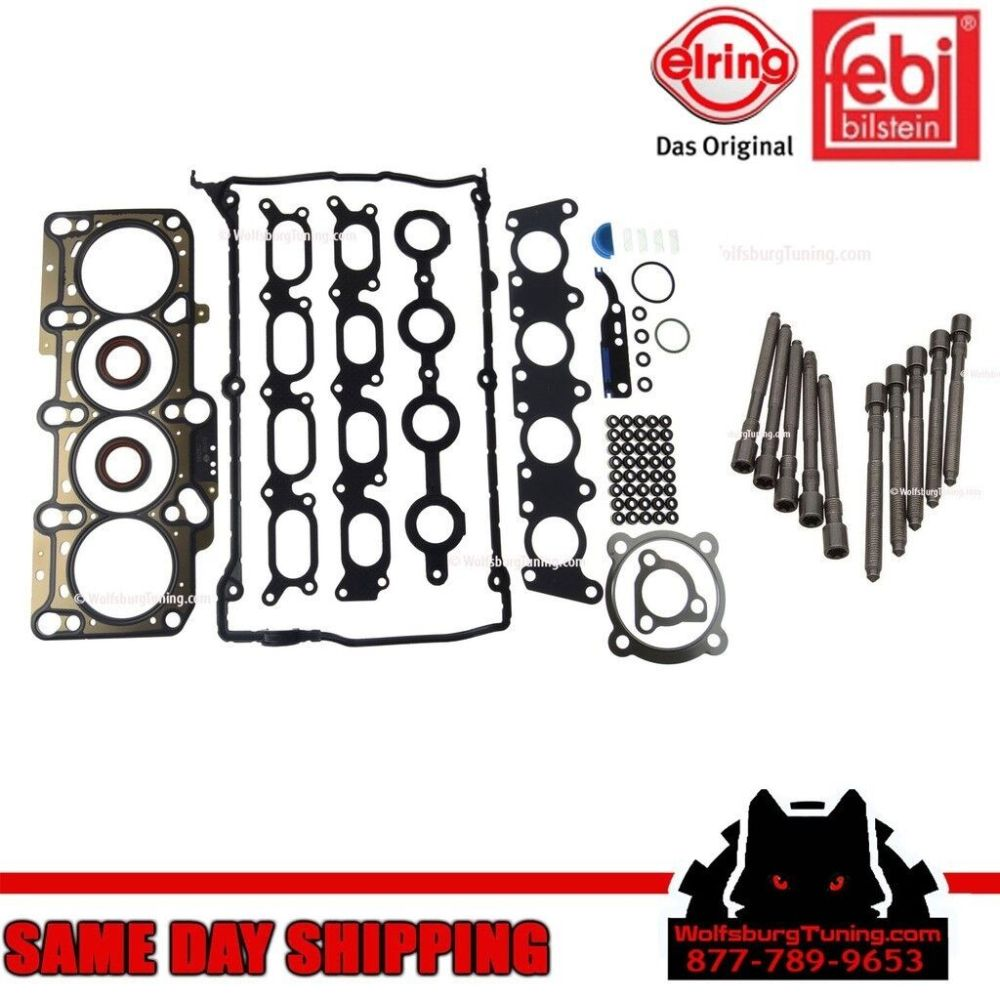 medium resolution of details about oem mk4 vw 1 8t 1 8 turbo cylinder head bolt gasket set headgasket jetta gti 99