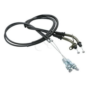 Motorcycle Pull & Push Throttle Cable Fit for Suzuki