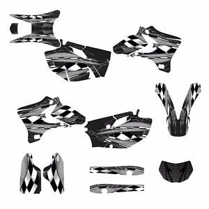 2005 2006 WR250F WR450F Graphics sticker kit #3500-Metal