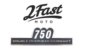 2FastMoto Kawasaki KZ750 Side Cover Emblem Badge KZ 750