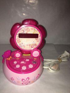 Barbie Hour Garden Talking Alarm Clock