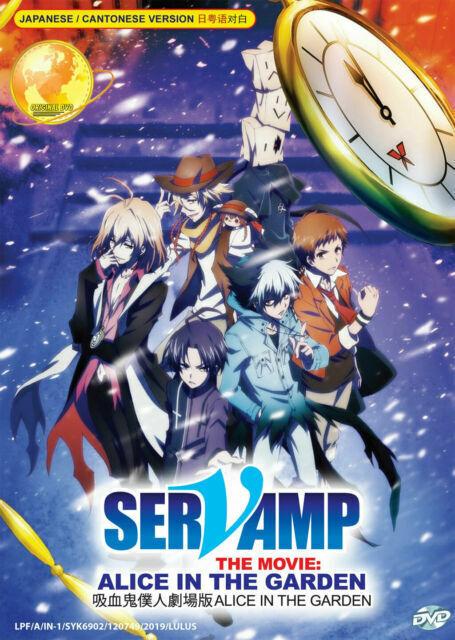 Servamp Alice In The Garden : servamp, alice, garden, Servamp, Movie, Alice, Garden, Anime, SELLER, Online