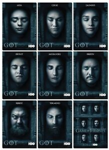 Game Of Throne Saison 6 : throne, saison, THRONES, Season, FACES, Promo, Daenerys, Sansa