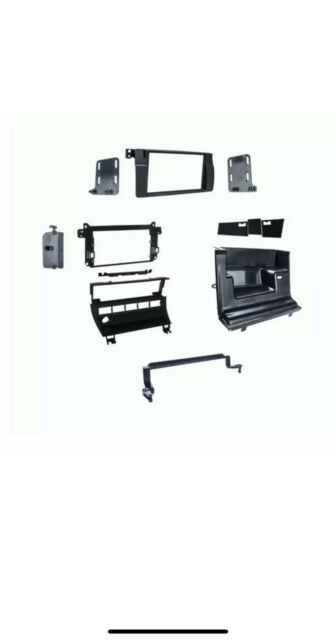 Metra 95-9312B Double DIN Dash Install Kit for 1999-2006