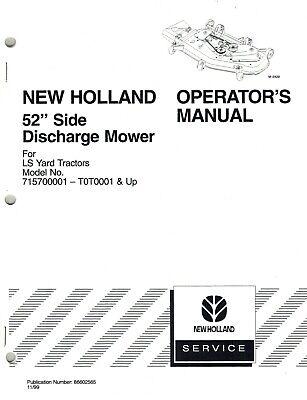 NEW HOLLAND 52