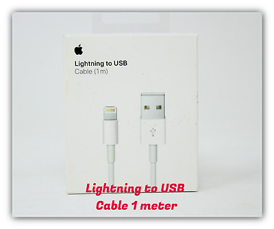 Apple OEM Lightning to USB Charging Date Cable 1M White