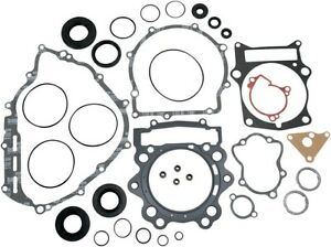 Moose Complete Gasket Kit w/ Oil Seals for YAMAHA 07-16