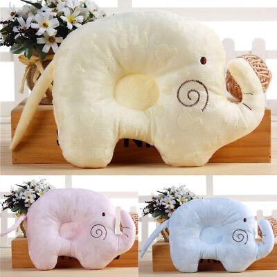 safe newborn baby elephant pillows prevent flat head sleeping anti roll cushion ebay