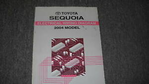 1996 toyota land cruiser electrical wiring diagram ewd hsh ibanez 2004 sequoia service shop repair image is loading