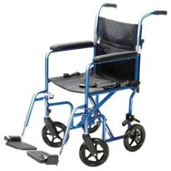 Carex Transport Chair Revolving Legs 19 Classic Portable Mobility Medical A336 77 Image Is Loading 034