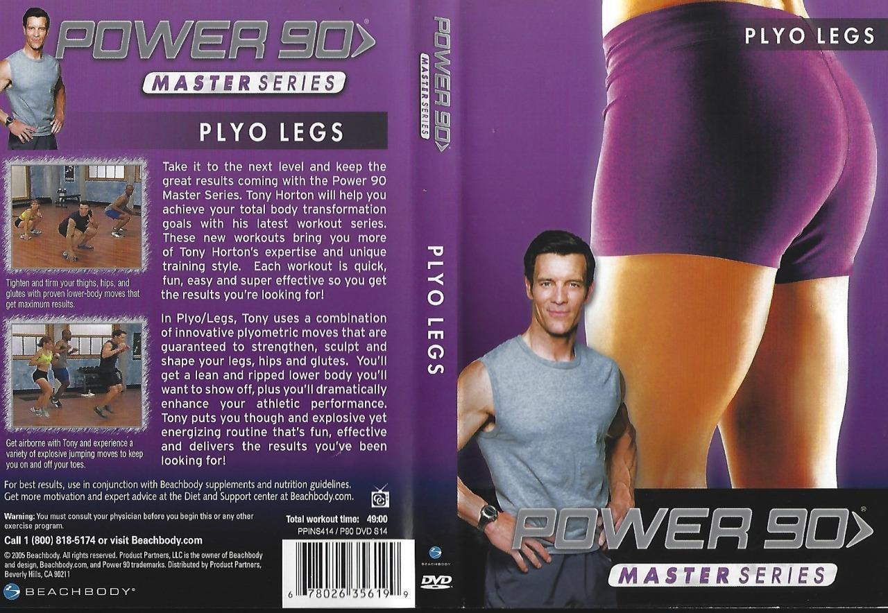 Power 90 Master Series Lean Workout Schedule