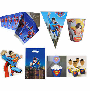 details about superman party