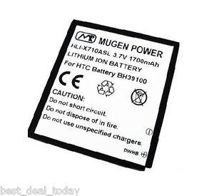 Mugen Power 1700MAH Extended Life Slim Battery For HTC