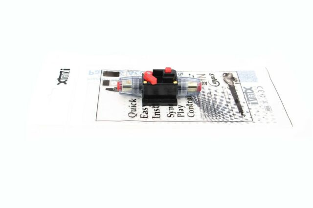 Xtenzi 50A Car Audio Inline Circuit Breaker Fuse (12V DC