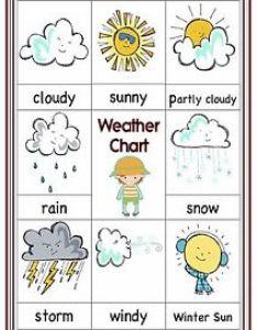 Image is loading  poster sign weather chart educational eyfs sen also children kids rh ebay