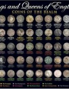 Image is loading coins of kings and queens england  also wall chart poster rh ebay