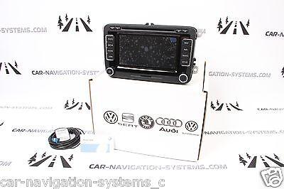 NEW RNS 510 DAB LED Volkswagen OEM navigation retrofit kit
