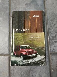 2013 Jeep Wrangler Owners Manual : wrangler, owners, manual, Wrangler, Owner, Manual, Guide