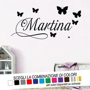 Non solo il colore, ma anche il materiale e la grandezza dell'adesivo da comprare. Adesivi Murali Adesivo Wall Stickers Decorazioni Cameretta Bimba Farfalle Disney Ebay