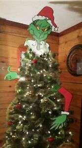 Image Is Loading Mr Grinch Por New 3 Piece Christmas