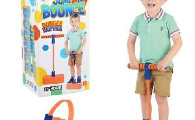 Bungee Hopper Soft Pogo Stick Jump N Bounce Space Balance