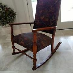 1920s Rocking Chair Covers Dining Table Murphy Made In Owensboro Kentucky Ebay Image Is Loading