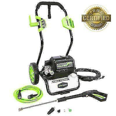 Greenworks 2000 Psi 1 2 Gallon Gpm