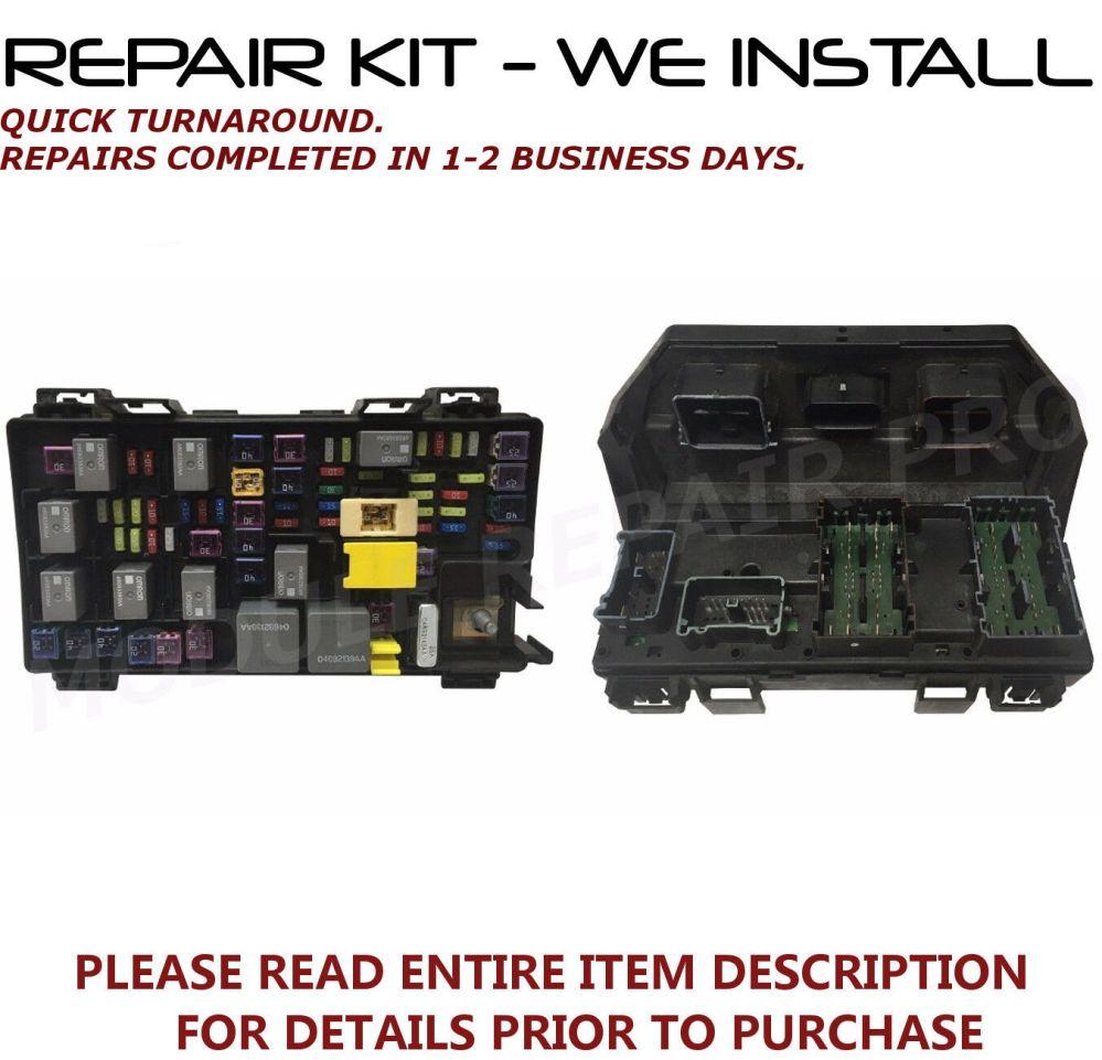 medium resolution of repair kit 4 dodge durango ram 1500 2500 3500 5500 tipm fuse box 2011 2012 2013