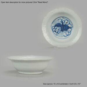 Antique Chinese Wanli Kraak Klapmuts Ca 1600 Porcelain Ming Dynasty LEA...