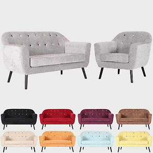 2 seater love chair positions for scaling modern accent tub bucket sofa seat armchair grey fabric 1 image is loading