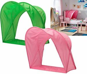 details about ikea sufflett children s bed tent canopy for kids single bed pink or green