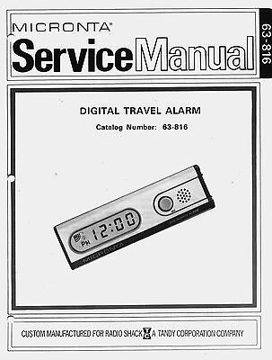 New SERVICE Manual REALISTIC Radio Shack for the Digital