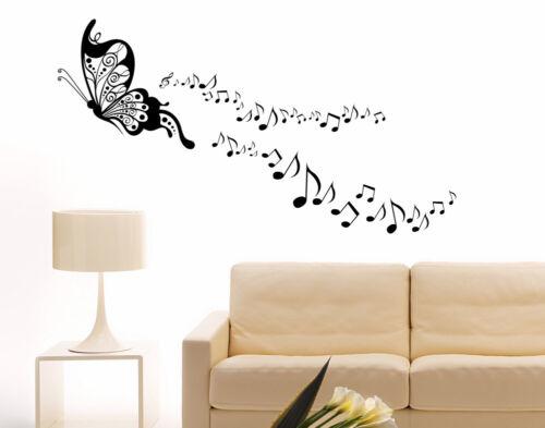 Anhuib 55 pezzi adesivi da parete musicali,musicale note adesivi murali,stickers murali nota musicale per stanza della musicale,rimovibili vinile nero. Decals Stickers Vinyl Art Adesivi Murali Farfalle Musica Note Musicali Wall Stickers Da Parete Per Muro Home Garden Citricauca Com