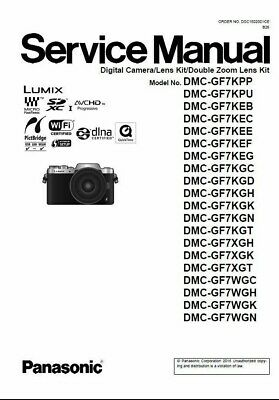 Panasonic Lumix DMC-GF7 GF7K GF7X GF7W Digital Camera