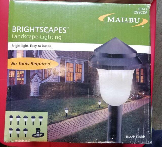 intermatic malibu low voltage landscape lights yard metal black lx40308t kit