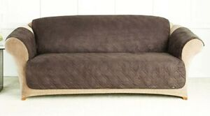 microfiber sofas modern sofa bed images quilted cover chair throw pet dog kids furniture image is loading