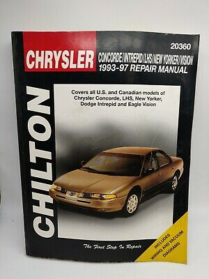 Chrysler Eagle : chrysler, eagle, CHRYSLER, Concorde, Intrepid, Yorker, EAGLE, Vision, 93-97, Chilton, 20360
