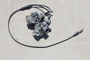Yamaha Banshee atv carbs carburators TORS REMOVED 1987
