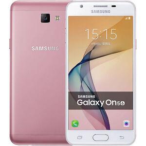 """Samsung Galaxy On5(2016) G5510 Pink Dual SIM 16GB 5.0"""" Android Phone By FedEx"""