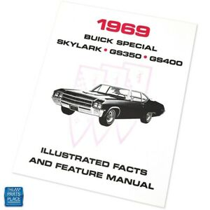 1969 Buick Special Skylark GS350 GS400 Illustrated Facts