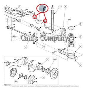 1061659 2pcs JAGUAR X-Type 2001-2009 Rear Control Upper