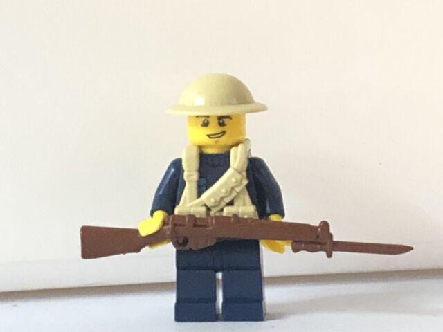 Lego WW1 British Royal Marine Minifigure Soldier | eBay